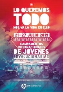 36ª Edición de los Campamentos Internacionales de Jóvenes Revolucionarias @ La Granja